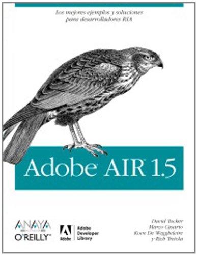 Adobe AIR 1.5 (Anaya Multimedia/O´Reilly) por David Tucker