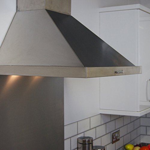 41WfRCk9U4L. SS500  - Igenix Chimney Cooker Hood Extractor - 60 cm, Stainless Steel