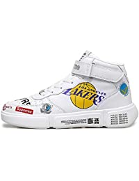 GNEDIAE Hombre Mujer High-Top Zapatillas Deportivas Calzado Deportivo Al Aire Libre Moda Sneaker Antideslizante Zapatillas de Deporte Ligeros Zapatos para Correr Transpirable Lace Up
