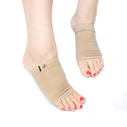 einyou-2-paar-arch-support-socks-socken-mit-silikon-bogen-stutzkissen-flat-foot-stutzsocken-effektiv