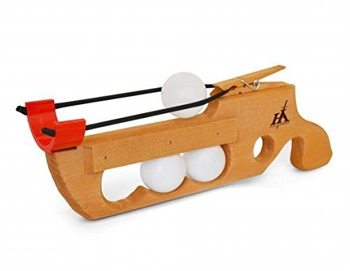 Toy-His Armor Ping Pong Ball Shooter by Oodles World