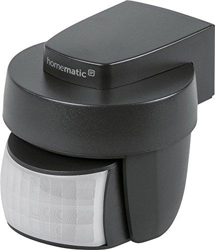 Homematic IP Smart Home Bewegungsmelder mit Dämmerungssensor - außen, anthrazit, 150574A0
