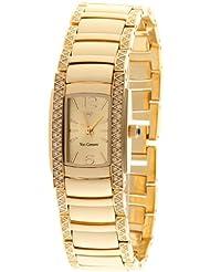 Yves Camani Damenuhr Quarz Armband Edelstahl beschichtet Mineralglas JULIETTE  gold/gold YC1035-A