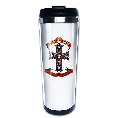 Mensuk Guns N Roses Cross Logo Vacuum Cup Coffee/Travel Mugs