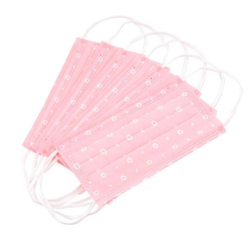usa-e-getta-motivo-floreale-colore-rosa-polvere-earloop-face-mask-mascherina-per-bocca-come-regalo-d