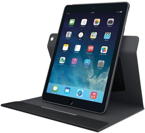 Logitech Turnaround Schutzhülle drehbar für Apple iPad Air schwarz