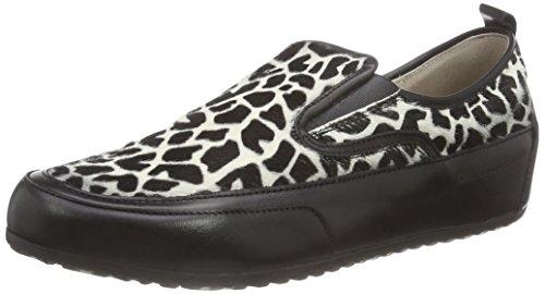 Candice Cooper giulia.S02.giraffe, Scarpe chiuse donna, Multicolore (Mehrfarbig (bianco-nero)), 40