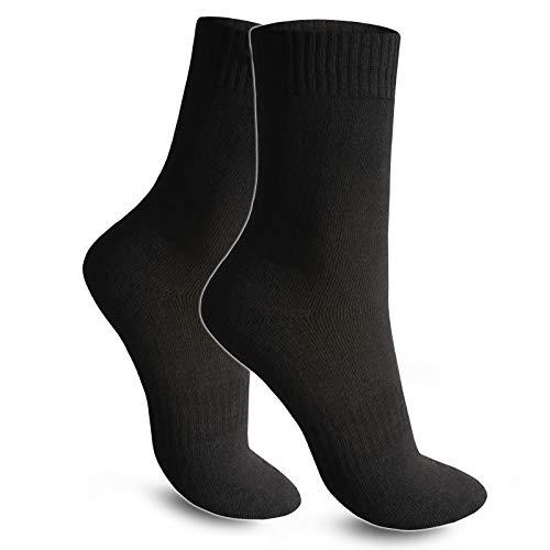 6 Paar Herren Socken Thermosocken Größe 43-46 Warme Dicke Winter Sport Ski Arbeitssocken -