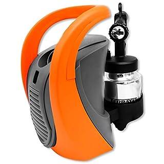 Professional Finish Paint Sprayer, 700W Pro Electric Spray Gun with 3 Spray Patterns, HVLP Hand Held Spray Gun System, Fence Sprayer, Adjustable Valve Knob, 1 x 800ml Detachable Container Painting