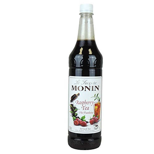 Monin - Raspberry Tea/The Framboise Syrup - 1L (Case of 4)