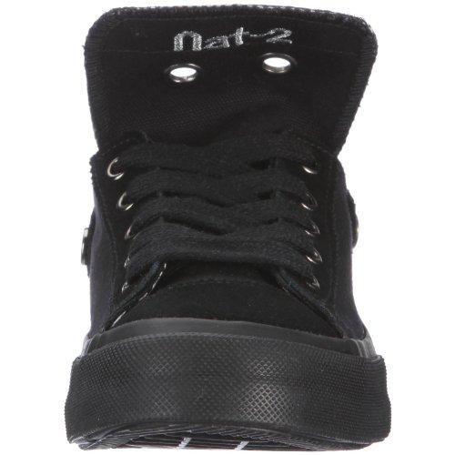 Nat-2 Stack 4 in 1 WS41BLK40, Baskets mode femme Noir