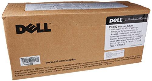 Preisvergleich Produktbild Original Dell PK492 High Capacity Toner Kit, ca. 2.000 Seiten, black