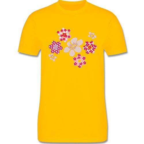 Blumen & Pflanzen - Blumen - Herren Premium T-Shirt Gelb