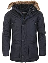 Geographical Norway - Parka Geographical Norway hiver Parka Abiosaure bleu marine - Bleu
