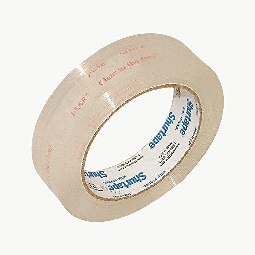 Shurtape jlar klar bis die Core Tape (Permacel j-lar): 1in. X 72Yards. (kristallklar)