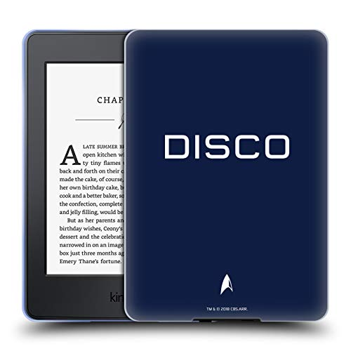 (Head Case Designs Offizielle Star Trek Discovery Zufällig Uniformen Soft Gel Hülle für Amazon Kindle Paperwhite 3)