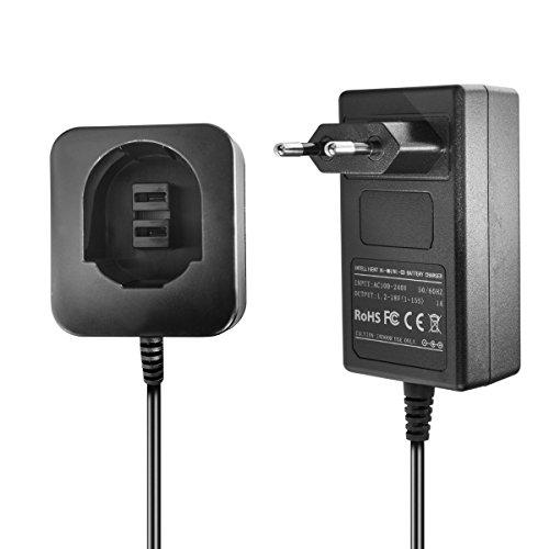 Chargeur pour Dewalt / Black & Decker Ni-MH/Ni-CD batteries d'outils 3.6V, 7.2V, 9.6V, 12V, 14.4V, 18V - 1.5A, 1A