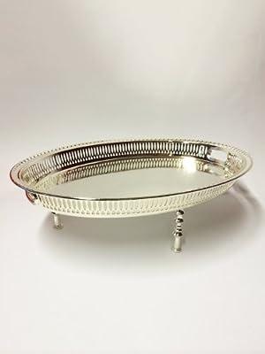 Orient orientalisch beistelltisch Tablett Tisch Zeenat oval mittel 51cm