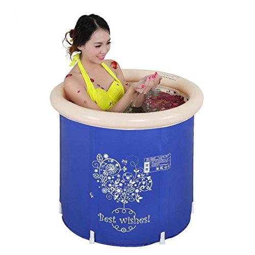 LIVY Klappbare Badewanne Badewanne Eimer Wanne aufblasbare Badewanne verdickt in adult Baby Bad Eimer Kind Bad Fass