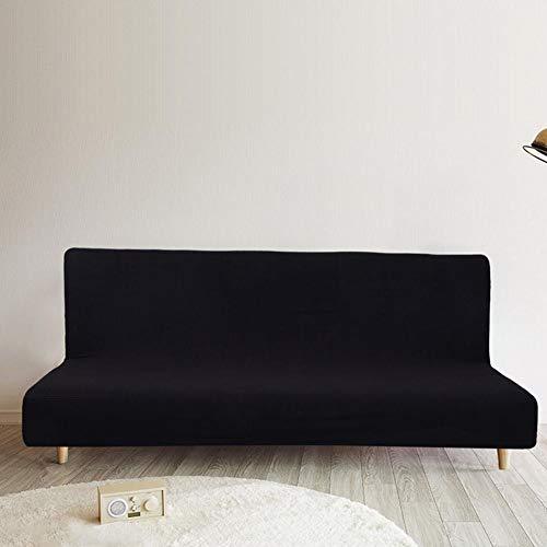 Mimir-t divano copre,3sedile universale in poliestere tessuto ispessimento comodo impermeabile anti-graffio copridivano elasticizzato in pile, copridivano slipcover nero