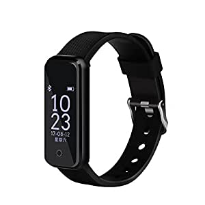 OPTA SB-071 O-Sonic Bluetooth Fitness Band Smart Watch for Android, iOS Devices (Black)