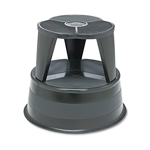 Preisvergleich Produktbild Kik-Step Steel Step Stool, 16 dia. x 14 1/4h, to 350lb, Black, Sold as 1 Each