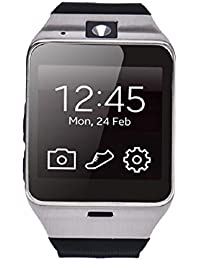 Tongshi Aplus GV18 Bluetooth inteligente reloj teléfono GSM NFC Cámara reloj impermeable para Samsung iPhone (negro)