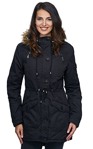 Rock Creek Selection - Blouson - Femme Schwarz