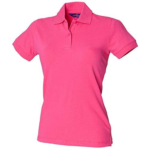 HenburyDamen Poloshirt Rosa - Fuchsia