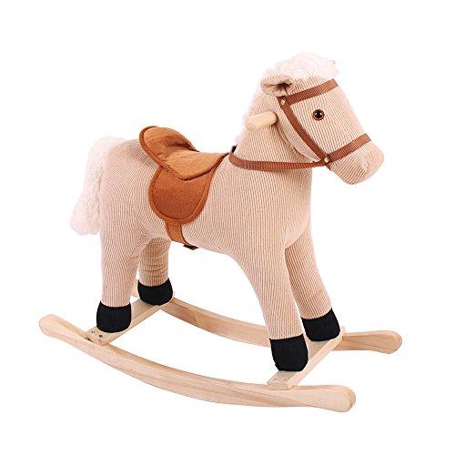 Bigjigs Toys Plush Cord Rocking Horse