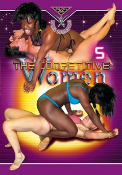 Real Fighting - THE COMPETITIVE WOMEN 5 DVD (Competitive wrestling) Amazon's Prod