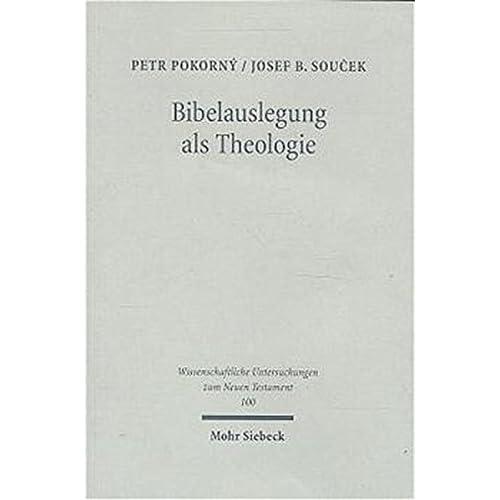 Bibleaudlegung Als Theologie