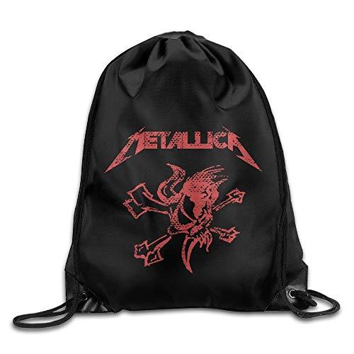 Special Combat Air Recon Sport Mochila Drawstring Print Bag Rock Punk Band Metallica