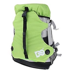 Baoblaze Mutifunktion Schlittschuhe Tasche Rollschuhetasche Polyester Rucksack für Männer, Frauen, Kinder