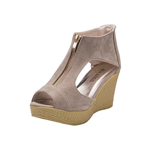 Sandalias de mujer Zapatos de mujer Ocasiones casuales de verano Cómo