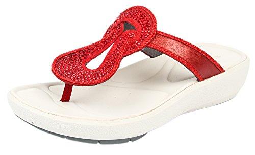 Clarks Women's Wave Glitz Slippers