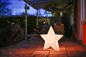 Accentum Star Light Design & Lichtobjekt, Größe 74cm x 18cm x 70cm, Outdoor geeignet
