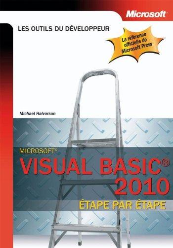 Visual Basic 2010 : Etape par étape