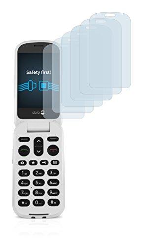 Savvies Schutzfolie für Doro 6050 [6er Pack] - klarer Displayschutz