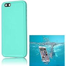 Sunroyal® para iPhone 6S Funda Impermeable Carcasa para Smartphone iphone 6 Portátil Case Acuática Sumergible Mismas Funciones Waterproof Sellada Sumergible Cáscara Color Verde