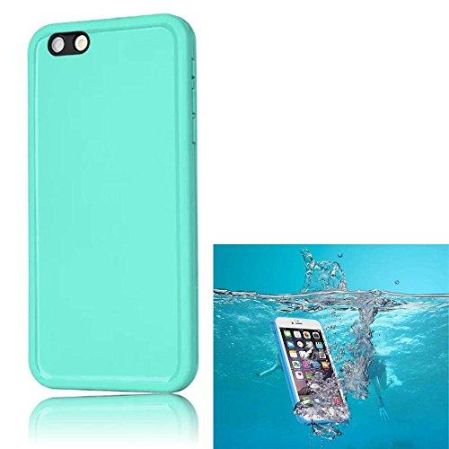 """Sunroyal® Custodia Impermeabile per Apple iPhone 6 iPhone 6S 4.7"""" Portatile Antiurto Antisporco Rubber Silicone Protective di gomma Waterproof Case Cover Protettiva, Verde"""
