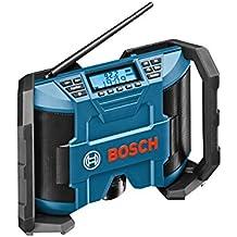 Bosch GML 10,8 V-LI Professional - Radio (Portátil, Digital, AM, FM, 10 W, LCD, 1.4 kg) Negro, Azul
