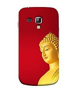 PrintVisa Designer Back Case Cover for Samsung Galaxy S Duos S7562 (lord god bhagwan ishwar swami)