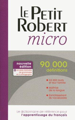 PETIT ROBERT MICRO par COLLECTIF
