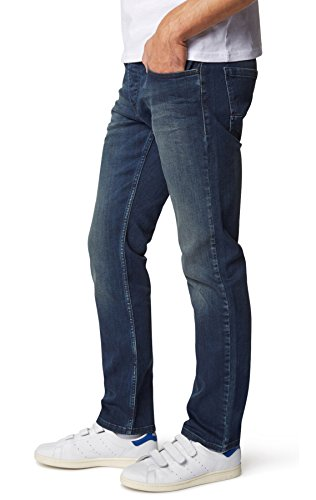 WOTEGA Jeans Ivern, slim fit, uomo midnight navy (4110)
