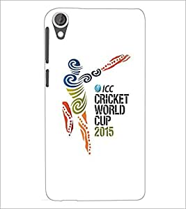 HTC DESIRE 820 CRICKET Designer Back Cover Case By PRINTSWAG