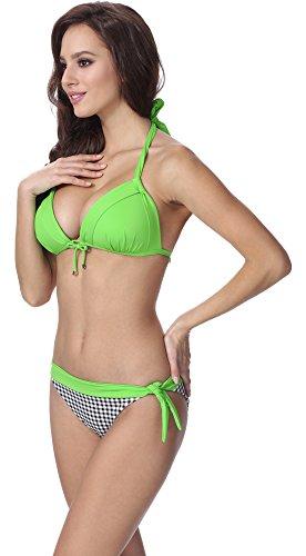 Feba Damen Push Up Bikini F18 Muster-204