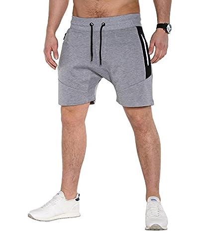 BetterStylz FreefghtBZ Men's Short Shorts Joggingshort Bermuda Regular Fit Fitness