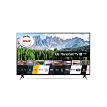 LG 55SM8500PLA 55 Inch UHD 4K HDR Smart NanoCell LED TV with Freeview Play - Black (2019 Model)