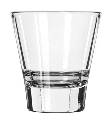 12 x Trinkglas, Whiskyglas, Glas, transparent, 11 cl, Ø 6.9 cm, Höhe: 7.6 cm Libbey Tumbler Set